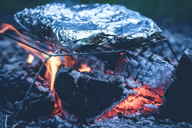 grill aluminum foil ash | Camping Checklist For The Wild Man