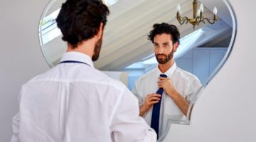 Feature   professional man getting ready morning routine   How To Smell Good All The Time