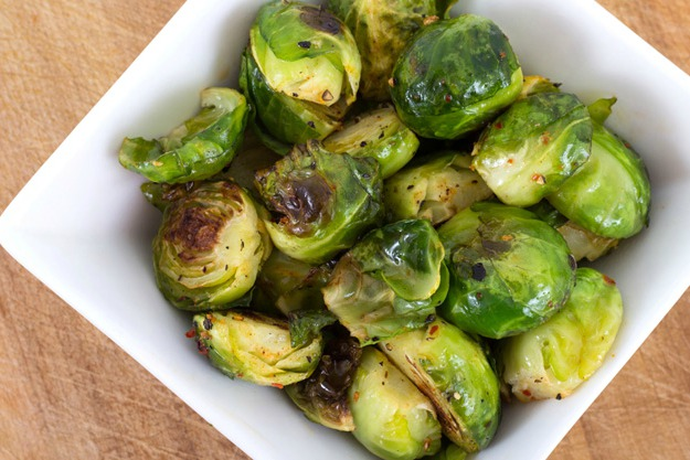 Miso-Roasted Brussels Sprouts | Quick Holiday Recipes Any Man Can Cook